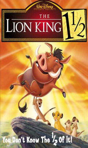 Скачать фильм Король лев 1 1/2 / Король лев 3: Хакуна Матата DVDRip без регистрации