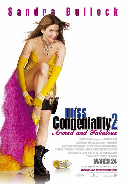 Скачать фильм Мисс Конгениальность 2: Прекрасна и опасна DVDRip без регистрации